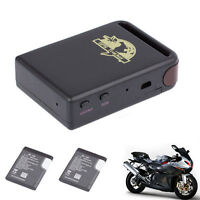TK102 GPS/GSM/GPRS Tracker Car Vehicle Spy Real Time Tracking Device + 2 Battery