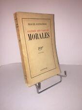 Algèbre des valeurs morales par Marcel Jouhandeau