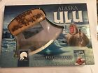 ULU KNIFE from Alaska fish knife Hunting knife de-skin knife