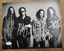 Winger 1980's Metal Band Autographed Signed 8x10 Photo JSA COA (ph338)