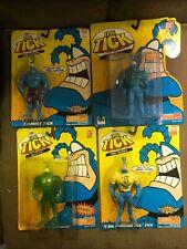 1995 Bandai The Tick Figure Lot Of 4