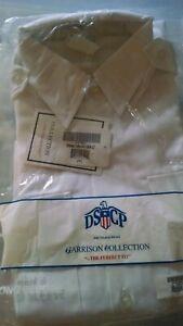 Army ASU White Dress Long Sleeve Uniform Shirt 16 1/2 x 32/33
