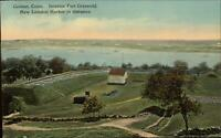 Groton CT Fort Griswold c1910 Postcard