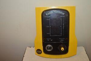 JEUX ELECTRONIQUE PUCK MONSTER LANSAY VINTAGE 1982 FONCTIONNE CONSOLE PAC-MAN