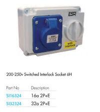Connecteurs, interrupteurs et câbles IP44