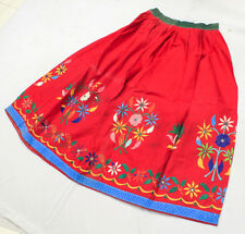 Kuchi Ethnic Gypsy Banjara India Boho Tribal Belly Dance Embroidery Rabari Skirt