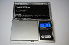 BL Scale MS-50 Feinwaage 50g / 0,01g Taschenwaage Digitalwaage Goldwaage Waage