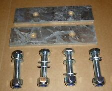 """LAND ROVER DEFENDER 90"""" REAR SPRING RETAINERS -  HEAVY DUTY 5mm!"""