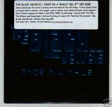 (G171) The Black Velvets, Once in a While - DJ CD