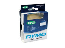 SINGOLO NASTRO DYMO D2 SUPPORTO BIANCO ALTEZ 6MM LUNG. 1MMT COD. S0721030/606110