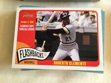 2014 Topps Heritage Baseball Flashbacks Roberto Clemente Pirates BF-RC