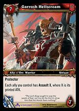 WOW WARCRAFT TCG SCOURGEWAR EPIC : GARROSH HELLSCREAM