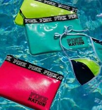 New Victoria's Secret Neon Green Swim Bag