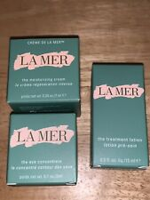 3 Pc LA MER Moisturizing Cream Eye Concentrate And Lotion New Travel Size