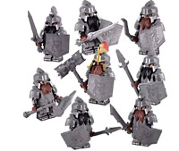 Lego Moc THE Hobbit COMPLETE SET 8 COMPANY OF DWARVES LORD OF THE RINGS FIGURES