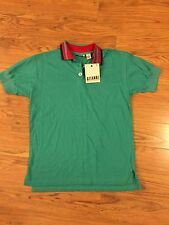Vintage Gitano 1980s 1990s polo shirt new with tags old stock Mens Small Green