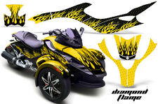 AMR Racing Can Am BRP RS Spyder Graphic Kit Wrap Roadster Sticker Decal DFLAME Y