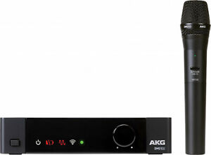 AKG DMS100 4-Channel Digital Handheld Wireless Microphone Mic System 2.4GHZ
