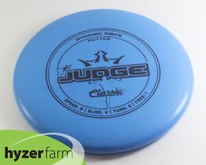 Dynamic Discs CLASSIC BLEND EMAC JUDGE *pick weight/color* Hyzer Farm disc golf