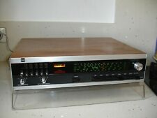 Tuner Vintage 1979  DUAL CT17 stereo AM-FM tuner wood coffer