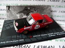 voiture 1/43 IXO Altaya Rallye LANCIA Fulvia Monte carlo 1972 Munari / Mannucci
