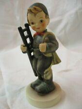 Vintage 1981 W. Germany Goebel Hummel Figurine Chimney Sweep #12/I signed