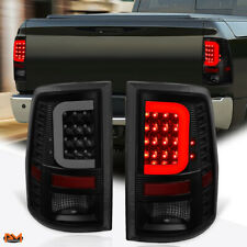 For 09-17 Dodge Ram Pickup 3D LED C-Bar Tail Light Rear Stop/Reverse Lamp Tinted