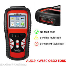 Car KW830 Scanner Tool EOBD OBD2 OBDII Diagnostic Code Reader Check Engine Scan