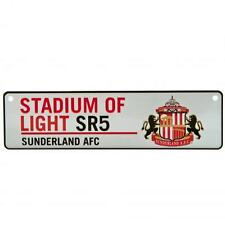 Sunderland AFC Official Metal Stadium of Light Stadium Window Sign