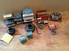 NOS Mixed Lot 18 Ball Bearings/Needle Bearings~Fafnir~Seal Master~New Dept