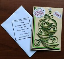 New 2020 Paper quilling Handmade Christmas Cards