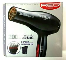 RED by KISS 2000 Ceramic IONIC Hair Blow Dryer