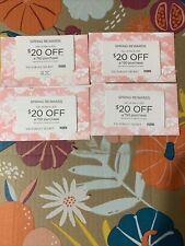 4 Victorias Secret $20 Off $50 Spring Rewards Card Coupon Feb 24-Mar 9