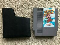 Super Mario Bros. 2 Brothers Nintendo NES Cartridge Cart AUTHENTIC! TESTED