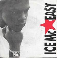 """45 TOURS / 7"""" SINGLE--ICE MC--EASY--1989"""