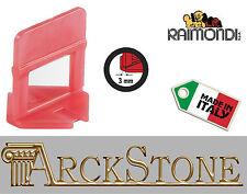 ARCKSTONE 500 basi 3-12 mm x fuga piastrella 3 mm Raimondi Levelling System RLS
