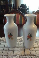 Kaiser Alka Kuntz pair of vases decorated with flowers[1]
