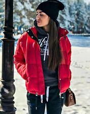 ZARA rouge gilet col haut veste taille L