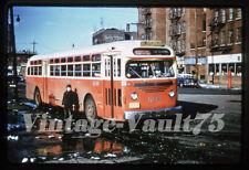 Duplicate Slide Bus Gmc 1244 Sts Surface Transit New York City 1958 Bronx
