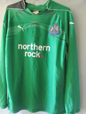 Tim Krul Signed Newcastle united Goalkeeper Football Shirt COA /13807