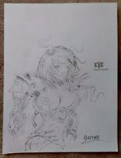 Justin Barrett - Original Art Sketch - E.V.E. PROTOMECHA