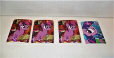ENTERPLAY MY LITTLE PONY STICKERS FROM FUN PACKS SERIES 2 LOT OF 4 TWILIGHT