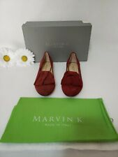 MARVIN K - Women's Shoes - Angelica Red Suede - NEW w/Box Size 6.5 M