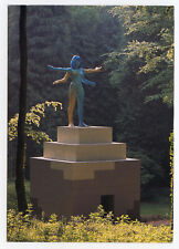 JONES ALLEN CARTE POSTALE SIGNÉE À LA MAIN HANDSIGNED POSTCARD SCULPTURE TEMPLE