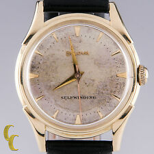 Bulova 14k Yellow Gold Vintage 1956 Self Winding (Automatic) Men's Watch