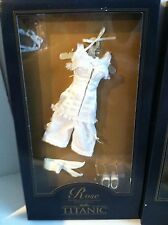 "FRANKLIN MINT TITANIC Rose 16""Vinyl Doll CORSET Ensemble NEW Complete NRFB"