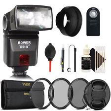 TTL Shoe Mount Flash + 52mm Lens Kit for NIKON D3300 D3200 D3100 D5500 D5300