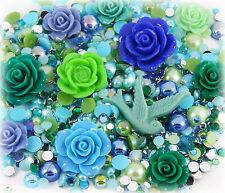 'em eralds & Perlas 20g conjunto de perla del Rhinestone Decoden Kit hágalo usted mismo Deco Kawaii Craft