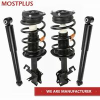 Set(4) Front & Rear Struts Shock Absorbers Assembly Fit 07-12 Nissan Sentra 2.0L