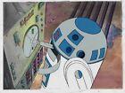 Vintage Star Wars DROIDS animation cels w/ Production art Background R2-D2 RARE